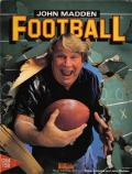 John Madden Football Commodore 64 Front Cover
