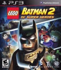 LEGO Batman 2: DC Super Heroes PlayStation 3 Front Cover