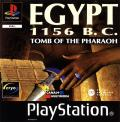 Egypt 1156 B.C.: Tomb of the Pharaoh PlayStation Front Cover