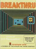 3-D Brickaway Commodore 64 Front Cover