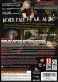 F.3.A.R. Xbox 360 Back Cover