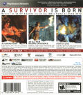 Tomb Raider PlayStation 3 Back Cover