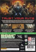 Gears of War: Judgment Xbox 360 Back Cover