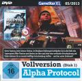 Alpha Protocol Windows Front Cover Disc 1