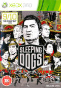 Sleeping Dogs Xbox 360 Front Cover