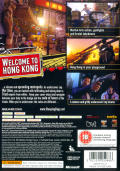 Sleeping Dogs Xbox 360 Back Cover