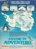 Antarctic Adventure ColecoVision Back Cover