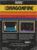 Dragonfire VIC-20 Back Cover