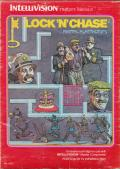 Lock 'n' Chase Intellivision Front Cover