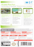Wii Fit Plus Wii Other Keep Case - Back