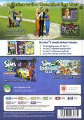 The Sims 2: Double Deluxe Windows Back Cover