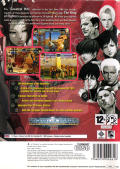 The King of Fighters 2002: Challenge to Ultimate Battle PlayStation 2 Back Cover