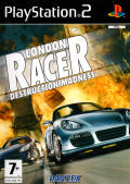 London Racer: Destruction Madness PlayStation 2 Front Cover