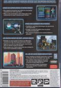 City of Heroes (Deluxe Edition) Windows Other Keep case's back cover