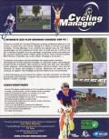 Cycling Manager Windows Back Cover