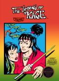 The Legend of Kage NES Front Cover