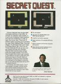 Secret Quest Atari 2600 Back Cover