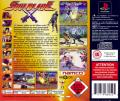 Soul Blade PlayStation Back Cover