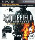 Battlefield: Bad Company 2 - Ultimate Edition PlayStation 3 Front Cover