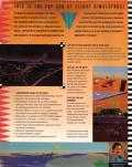 JetFighter II: Advanced Tactical Fighter DOS Back Cover
