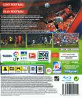 FIFA Soccer 12 PlayStation 3 Back Cover