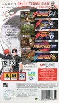 The King of Fighters Collection: The Orochi Saga PSP Back Cover