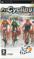 Pro Cycling: Season 2008 PSP Front Cover
