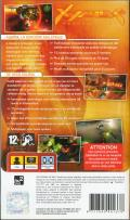 Xyanide: Resurrection PSP Back Cover