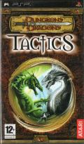 Dungeons & Dragons Tactics PSP Front Cover