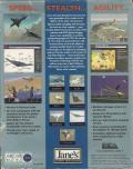 Jane's Combat Simulations: Advanced Tactical Fighters DOS Back Cover Outer sleeve