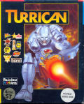 Turrican Atari ST Front Cover