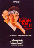 The Karate Kid: Part II - The Computer Game Atari ST Front Cover