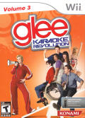 Karaoke Revolution: Glee - Volume 3 Wii Front Cover