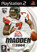 Madden NFL 2004 PlayStation 2 Front Cover
