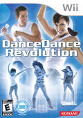 Dance Dance Revolution Wii Front Cover