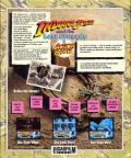 Indiana Jones and the Last Crusade: The Action Game Atari ST Back Cover