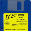 Indiana Jones and the Last Crusade: The Action Game Atari ST Media Disk 2 of 2
