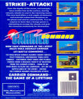 Carrier Command Atari ST Back Cover