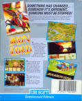 Iron Lord Atari ST Back Cover