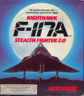 F-117A Nighthawk Stealth Fighter 2.0 Amiga Front Cover