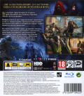 Game of Thrones PlayStation 3 Back Cover