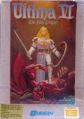 Ultima VI: The False Prophet Amiga Front Cover