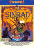 Sinbad and the Throne of the Falcon Atari ST Front Cover