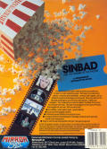 Sinbad and the Throne of the Falcon Atari ST Back Cover