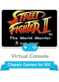 Street Fighter II Wii Front Cover