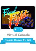 Final Fight Wii Front Cover
