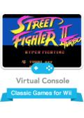 Street Fighter II Turbo Wii Front Cover
