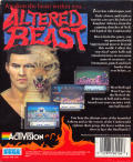 Altered Beast Atari ST Back Cover