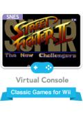 Super Street Fighter II Wii Front Cover