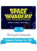 Space Invaders Wii Front Cover